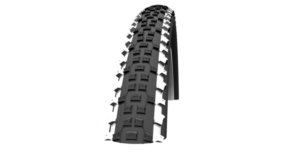 "SCHWALBE Rapid Rob Active 26"" K-Guard Draht white stripes"